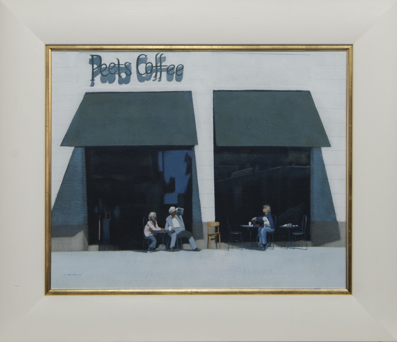 PEETS COFFEE, AN ACRYLIC BY PETER NARDINI