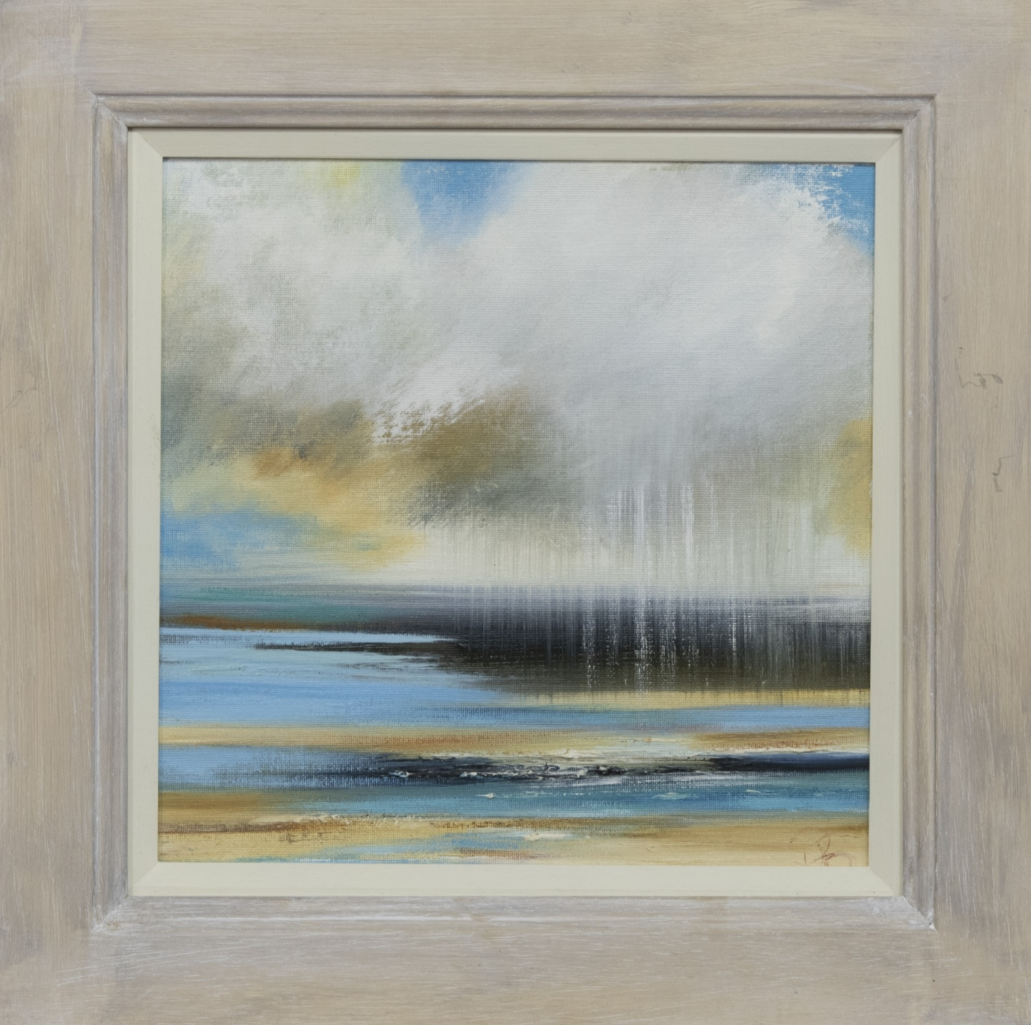 TIDE INCOMING, AN OIL BY ROSANNE BARR