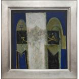 EGYPTIAN DOORS, A MIXED MEDIA BY CHARLES MACQUEEN