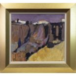 RONDA, AN OIL BY SHEILA MACMILLAN