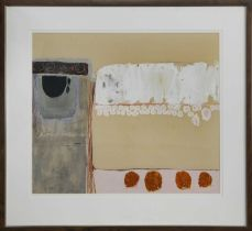 SEAHOUSE, A GOUACHE BY WILLIAM BURNS