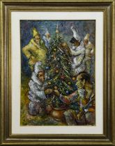 NATALE 1993, AN OIL BY MARIANO MAGNINI