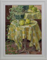 TRADESCANTIA, AN OIL BY JANE R BROWN