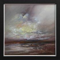 WINDSWEPT SKY II, AN OIL BY PHILIP RASKIN