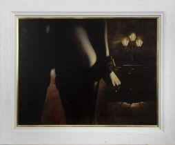 AN UNTITLED OIL BY BILL BLACKWOOD
