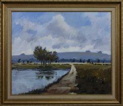LANDSCAPE, AN OIL BY JAMES ORR