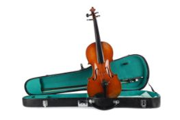 A LATE 19TH CENTURY VIOLIN FROM MIRECOURT, FRANCE
