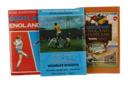 A COLLECTION OF SCOTLAND INTERNATIONAL AND OTHER FOOTBALL PROGRAMMES