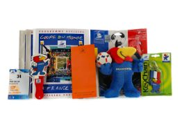 A COLLECTION OF FRANCE '98 WORLD CUP RELATED ITEMS