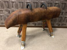 A 1970s POMMEL HORSE