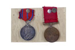 A LOT OF TWO EARLY 20TH CENTURY POLICE MEDALS