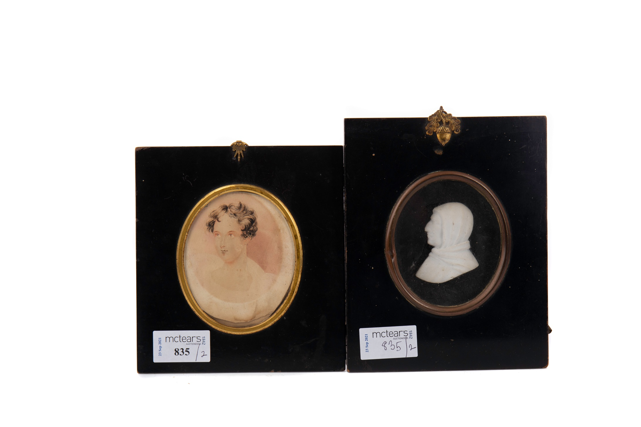 TWO LATE 18TH/EARLY 19TH CENTURY MINIATURES