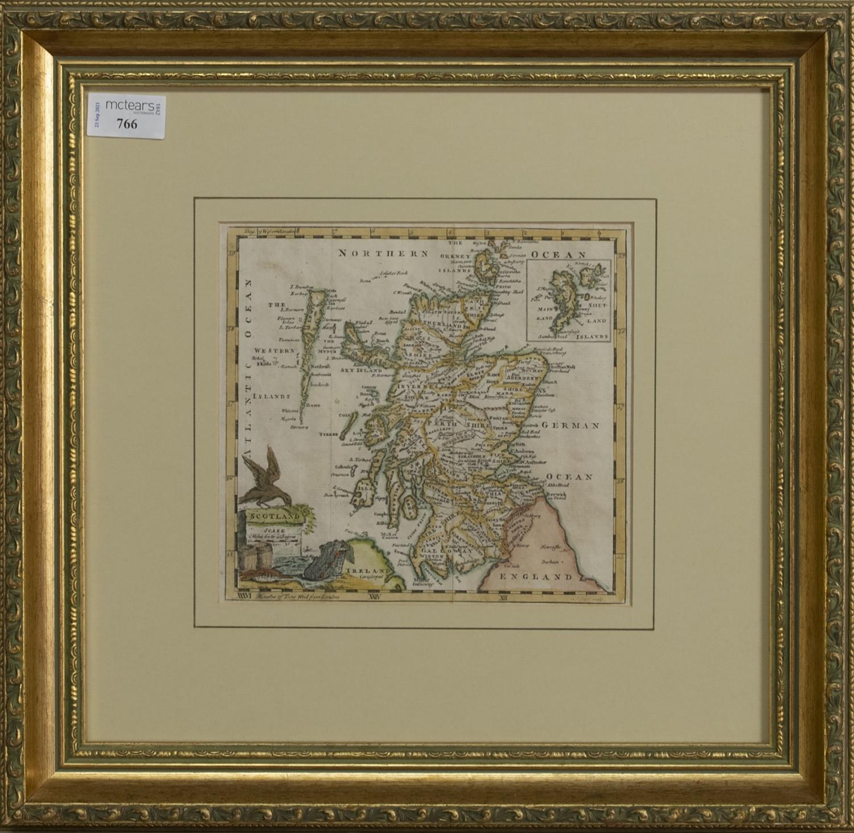 AN 18TH CENTURY MAP OF SCOTLAND BY THOMAS JEFFERYS