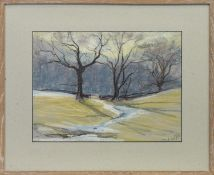 BRANCHES, A PASTEL BY MARY YATES