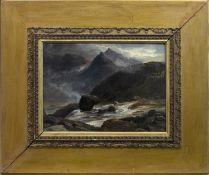 HIGHLAND RIVER, AN OIL BY JOHN MCWHIRTER