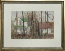 ALEXANDRIA, VIRGINIA USA, A WATERCOLOUR BY ROBERT SAWYERS