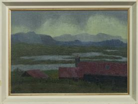 ACHMORE, ISLE OF LEWIS, AN OIL BY ROBERT SAWYERS
