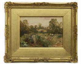 SCOTTISH LANDSCAPE, A WATERCOLOUR BY JOHN CRAWFORD WINTOUR