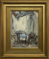 KIRKCUDBRIGHT, AN OIL BY ARTHUR MACDONALD