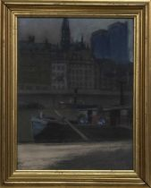 ACROSS THE CLYDE, A PASTEL BY WALTER PENDER