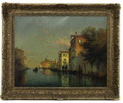VENICE, AN OIL BY ANTOINE BOUVARD