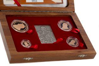 EDWARD VII GOLD KRUGERRAND COIN SET DATED 2006