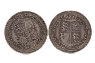 THREE VICTORIA COINS
