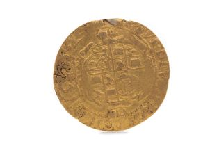 A CHARLES I GOLD DOUBLE CROWN