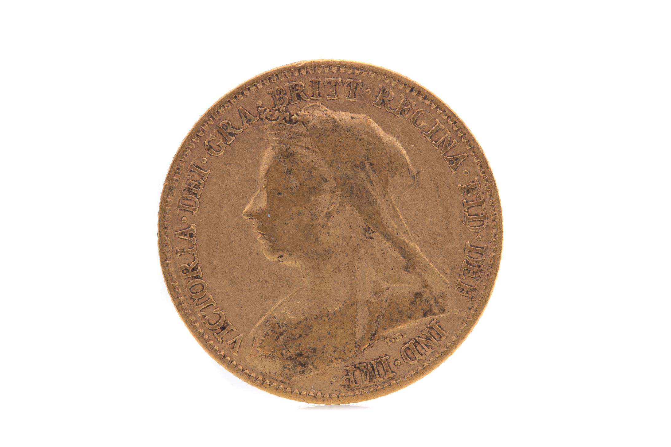 A VICTORIA GOLD HALF SOVEREIGN DATED 1894 - Image 2 of 2