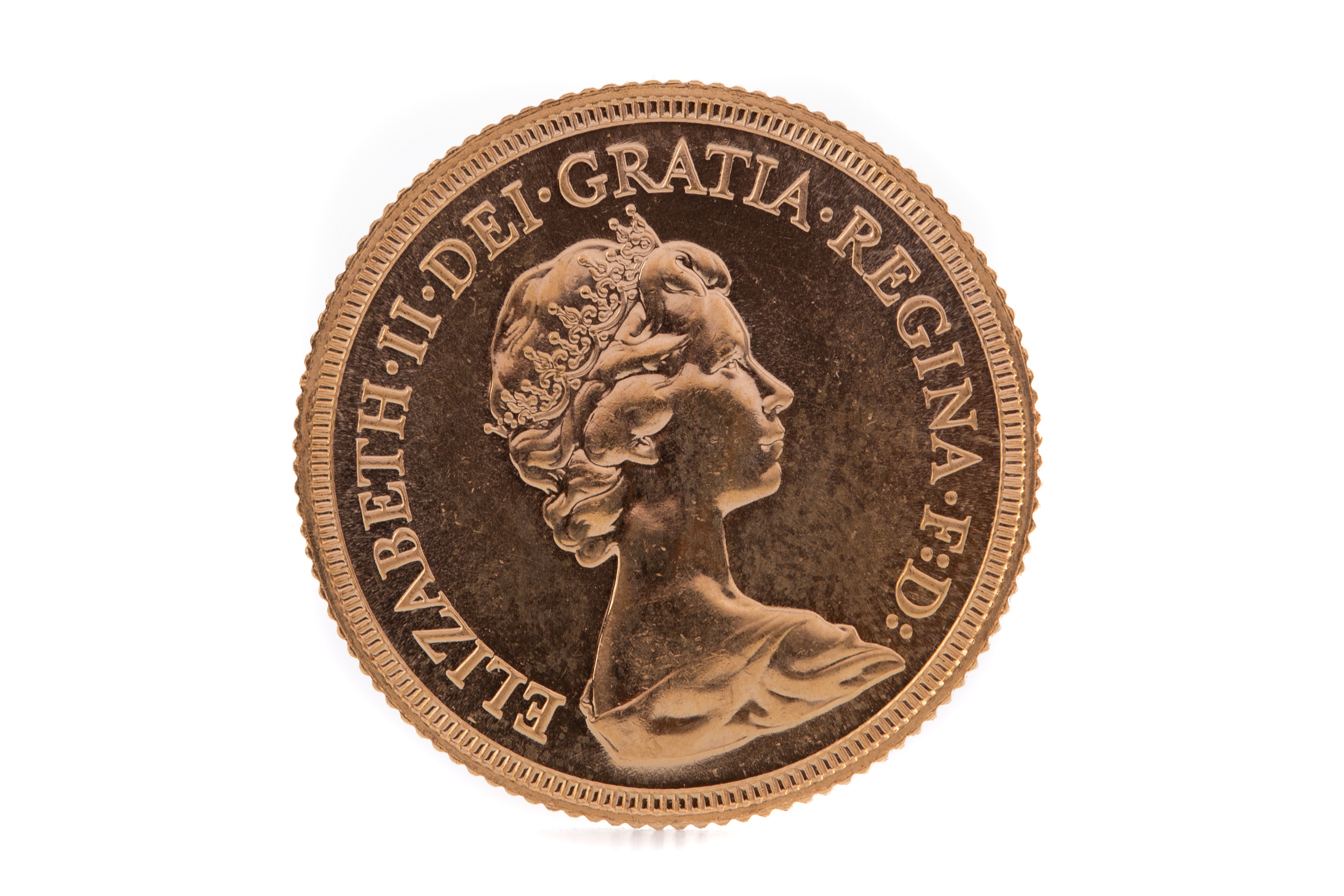 AN ELIZABETH II GOLD SOVEREIGN DATED 1981 - Image 2 of 2