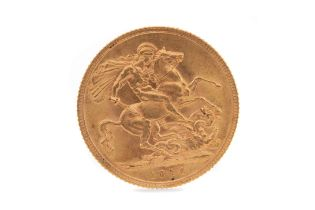 A GEORGE V GOLD SOVEREIGN DATED 1914
