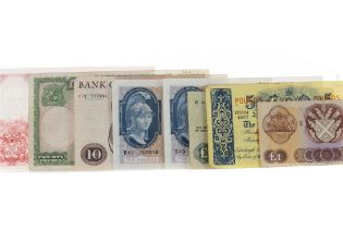 A COLLECTION OF GB BANKNOTES