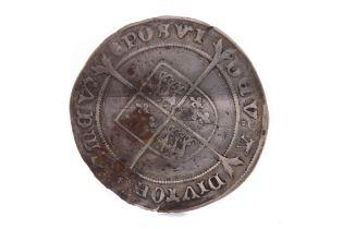 AN EDWARD VI (1547 - 1553) SILVER SHILLING