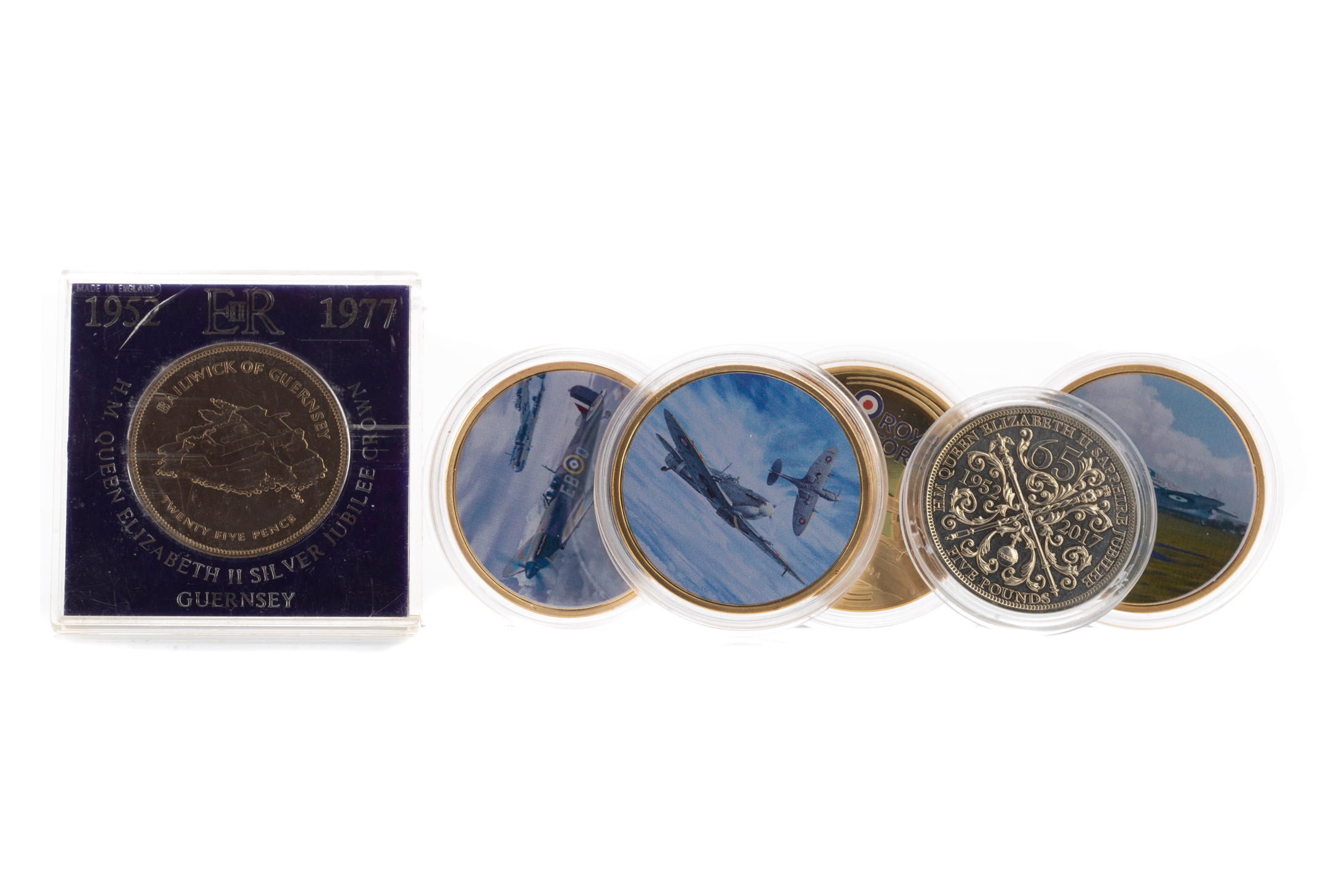 A COLLECTION OF COMMEMORATIVE AND OTHER COINS