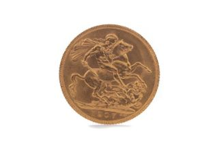 AN EDWARD VII GOLD SOVEREIGN DATED 1907