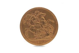 AN EDWARD VII GOLD SOVEREIGN DATED 1903
