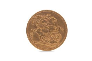 A GEORGE V GOLD SOVEREIGN DATED 1918