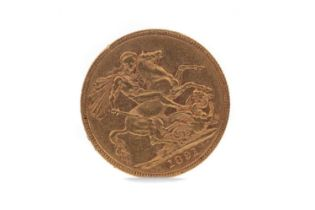 A VICTORIA GOLD SOVEREIGN DATED 1891