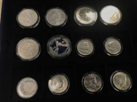 A COLLECTION OF SILVER COINS