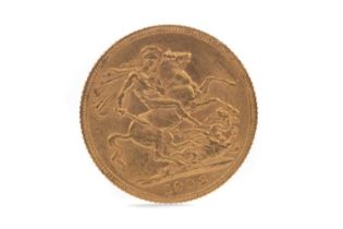 AN EDWARD VII GOLD SOVEREIGN DATED 1906