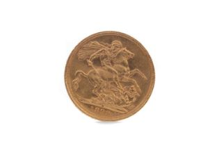 A VICTORIA GOLD SOVEREIGN DATED 1899