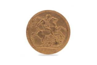 AN EDWARD VII GOLD SOVEREIGN DATED 1908