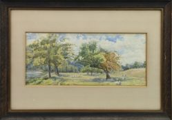 A PAIR OF WATERCOLOURS BY W A ABELL