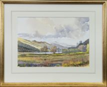 A PAIR OF WATERCOLOURS BY M W M PRENTICE