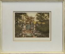 GIROMAGNY, A PRINT BY MARCEL AUGIS