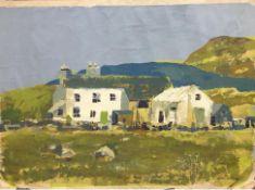 FARMHOUSE, AN ACRYLIC BY ARTHUR BELL FOSTER