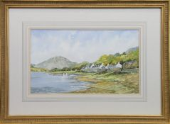 PAIR OF WATERCOLOURS BY IRVINE RUSSELL