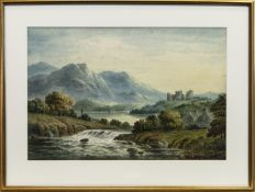 A PAIR OF SCOTTISH WATERCOLOURS