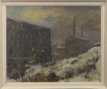 FACTORIES IN THE SNOW, A MAJOR WORK BY HERBERT WHONE