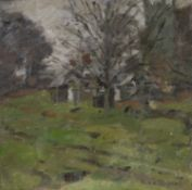 STANFORD SPINEY, AN OIL BY KEN HOWARD
